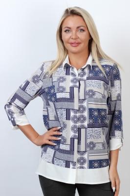 Блузка Дарси 1-1 фото