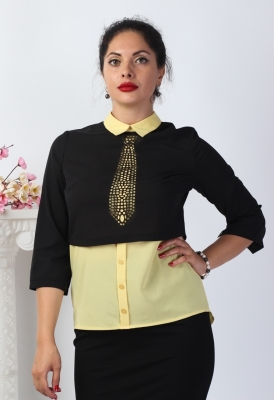 Блузка Энжи 1-3 фото
