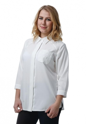 Блузка Альба 1-2 фото