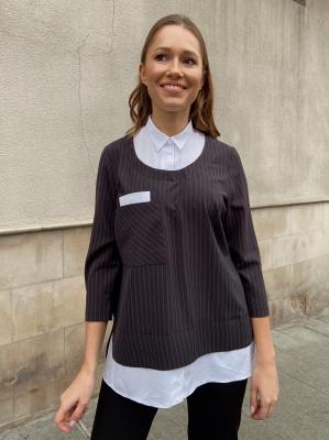Блузка Сандра 1-2 фото