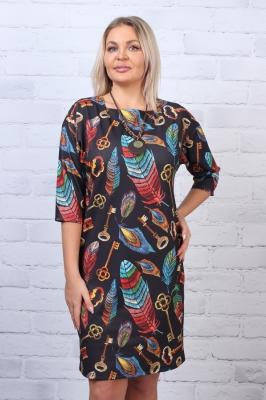 Платье трикотажное Сюита 1-8 фото