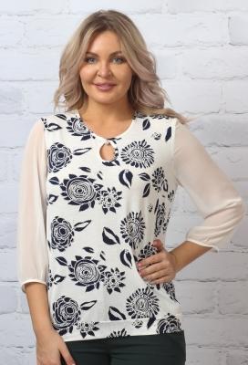 Блузка Виталина 1-4 фото