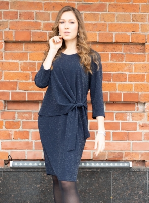 Платье трикотажное Виолет 1-2 фото